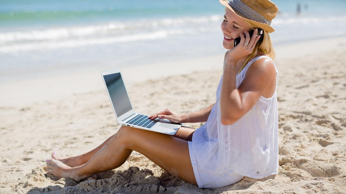 FRESH INFO +++ Arbeiten im Urlaub
