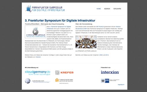 FRESH INFO +++ Frankfurter Symposium