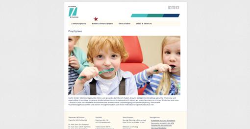 Relaunch Netzauftritt von Stammen & Partner in Grevenbroich