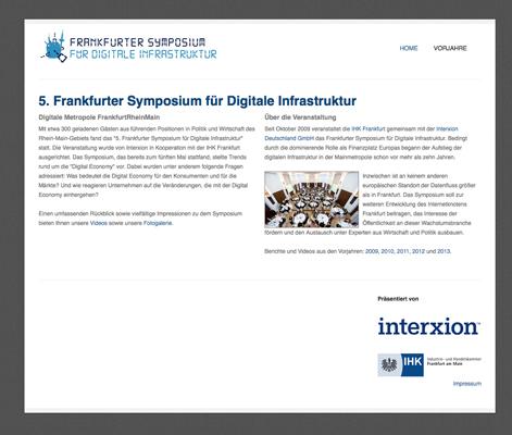 Referenz: Frankfurter Symposium für Digitale Infrastruktur