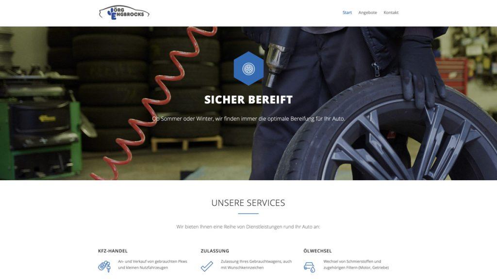 FRESH INFO +++ Neugestaltung einer Webseite