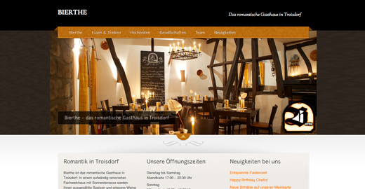 FRESH INFO +++ Referenz Restaurant Bierthe Troisdorf
