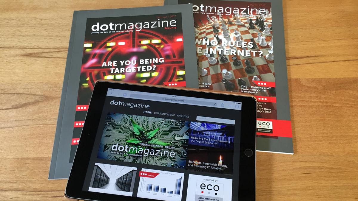 FRESH INFO +++ dotmagazine für eco
